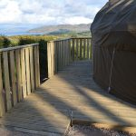 Level access to the yurt