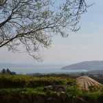 A yurt with a view – Lough Swilly and Knockalla