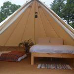 Cashel bell tent interior
