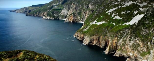 Slieve League sea cliffs